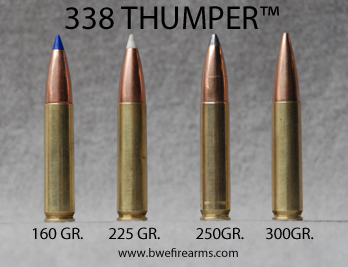 338 Thumper Rounds